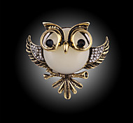 Vintage Fashion Owl Brooch