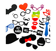cheap -Wedding Décor 31 Piece Card Paper Photo Booth Props/Party Fun Favor
