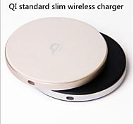 qi беспроводная зарядка док-станции iphone x 8 samsung galaxy s8 плюс примечание 8 встроенный qi приемник смартфон