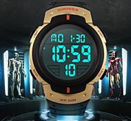 cheap -SKMEI® Men's LCD Digital Sport Watch Fashion Sporty Stopwatch Cool Watch Unique Watch