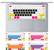 Недорогие -красочный дизайн конфеты крышка силиконовая клавиатура кожи для MacBook Air 13.3 MacBook Pro с сетчатки 13 15 17 нам макет
