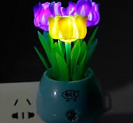 Недорогие -энергосберегающие светодиодные розового цвета света управлением режима лампы Night Light