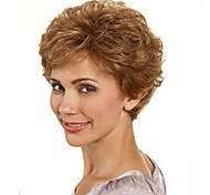 cheap -Synthetic Wig Wavy With Bangs Women's Capless Short Synthetic Hair