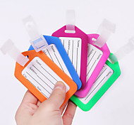 cheap -1 pc Luggage Tag Waterproof Anti Lost Reminder Luggage Accessory for Waterproof Anti Lost Reminder Luggage Accessory PP (Polypropylene) -