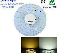 cheap -YouOKLight 1800 lm LED Ceiling Lights 100 leds SMD 2835 Decorative Warm White Cold White AC 110-130V AC 220-240V