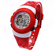 cheap -Children's Digital Watch Fashion Watch Sport Watch Digital Alarm Calendar / date / day Chronograph Sport Watch LCD Plastic Band Cool