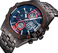 ASJ Men's Watch Digtal Display Date Day Alam Waterproof LCD Chronograph Sport Quartz Watch Military Army Style Wrist Watch Cool Watch Unique Watch