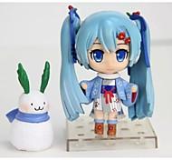 economico -Vocaloid Hatsune Miku PVC Figure Anime Azione Giocattoli di modello Doll Toy