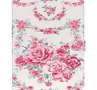 Недорогие -Кейс для Назначение Apple iPad Air 2 iPad mini 4 Кошелек Бумажник для карт со стендом Чехол Бабочка Соблазнительная девушка Твердый