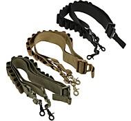 LS1642 Tactical High quality Nylon Heavy Duty Shotgun straps 15 Round Ammunition bandolier belt 20GA and 12 GA