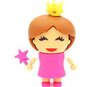 zpk30 16gb petite princesse usb de bande dessinée 2.0 lecteur de mémoire flash u bâton
