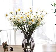Недорогие -Искусственные Цветы 1 Филиал Современный Ромашки Букеты на стол