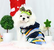 Dog Coat Dog Clothes Fashion Blue Khaki Costume For Pets