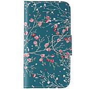 Недорогие -Для Samsung Galaxy S7 Edge Бумажник для карт / Кошелек / со стендом / Флип Кейс для Чехол Кейс для дерево Искусственная кожа SamsungS7