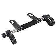 Недорогие -ziqiao универсальный авто спинки сиденья подголовник багажные сумки вешалка автомобильные аксессуары двойной держатель крюка