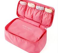 Недорогие -Органайзер для чемодана Сумка для макияжа Складной Хранение в дороге для Одежда Бюстгальтеры Ткань /
