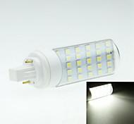 abordables -4W G24 Luces LED de Doble Pin Rotatoria 30 leds SMD 5050 Decorativa Blanco Cálido Blanco Fresco 250-300lm 2800-3200 6000-6500K AC 85-265V