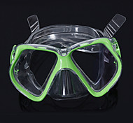 cheap -Diving Masks Swim Mask Goggle Diving / Snorkeling Swimming silicone Blue