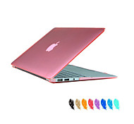 """cheap -Case for Macbook Air 11.6"""" MacBook Pro 13.3""""/15.4"""" Solid Color ABS Material Crystal Clear Full Body Case Cover"""