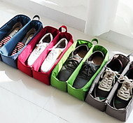 cheap -Portable Fabric Travel Storage/Packing Organizer for Shoes 30*20*10cm