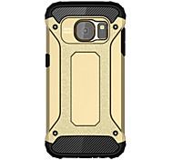 pour la couverture Samsung Galaxy s8, plus le cas antichocs arrière cas armure pc samsung bord s7 s7 s8 s6