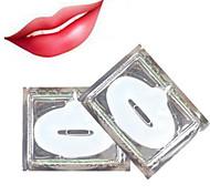 5PCS Crystal Collagen Lip Mask Care Gel Pads Lip Smackers Lip Plumper Enhancer Moisture Anti Aging Wrinkle