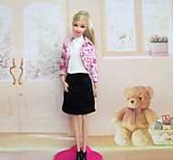 Casual Dresses For Barbie Doll Dresses For Girl's Doll Toy