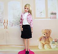 Kleider Für Barbie-Puppe Kleider Für Mädchen Puppe Spielzeug
