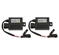 cheap -2pcs Universal 12V 55W Ultra Slim Digital HID Xenon Ballast Replacement Conversion