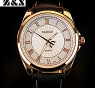 YAZOLE® Brand Men's Fashion  Quartz Night Light Dress Watch(Assorted Colors) Wrist Watch Cool Watch Unique Watch