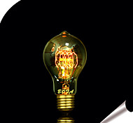 cheap -1pc 25W E27 E26 / E27 E26 A60(A19) Warm White Incandescent Vintage Edison Light Bulb 110-130V 220-240V