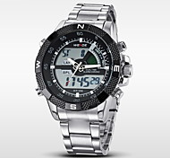 cheap -WEIDE® Men's Quartz Full Steel Sport Watch Luxury Brand Analog LCD Digital Display Cool Watch Unique Watch
