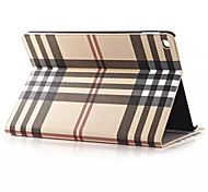 Custodia in pelle hq ultrasottile griglia di lusso per ipad aria 2 Smart Cover per iPad 2 aria compressa 9,7 pollici