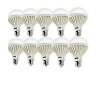 abordables -7W E26/E27 Bombillas LED de Globo A70 12 leds SMD 5630 Decorativa Blanco Fresco 550-600lm 6000K AC 100-240V
