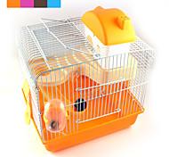 Недорогие -новая горячая продаж высококачественный пластик мульти - цветной замок домашнее животное хомяк усиливая клетки хомяка вилла