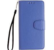 тисненой кожаный бумажник остается открытым для Huawei Y530 / у5 / Y560 / родственную 7 / P8 / p8lite