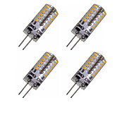 2W G4 LED Corn Lights MR11 48 SMD 3014 150-200 lm Warm White Cold White 3000-3500 6000-6500 K Decorative DC 12 AC 220-240 AC 12 V