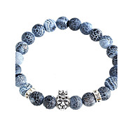 New Arrival Nature Stone The Lion King Crown Bracelet Strand Bracelets Daily / Casual 1pc Jewelry Christmas Gifts