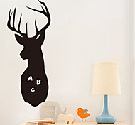 abordables -Paysage Animaux Romance Tableau noir Mode Forme Vacances Bande dessinée Fantaisie Stickers muraux Tableaux Noirs Muraux Autocollants