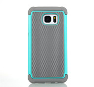 For Samsung Galaxy Case Shockproof Case Full Body Case Armor Silicone Samsung S7 edge / S7 / S6 edge plus / S6 edge / S6