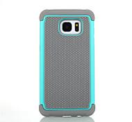 Für Samsung Galaxy Hülle Stoßresistent Hülle Handyhülle für das ganze Handy Hülle Panzer Hart Silikon für SamsungS8 Plus S8 S7 edge S7 S6