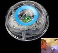 Недорогие -дети купаются подводная вспышка водить красочный флоат ванна игрушка лампа прозрачный синий небо