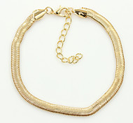 cheap -Anklet/Bracelet Others Unique Design Fashion Alloy Gold Silver Women's Jewelry 1pc