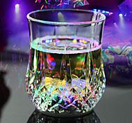 0.5 W Multicolore Batteria Sensore Bicchieri LED DC 12 V Plastica