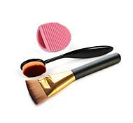 макияж кисти зубная щетка основа и щетка для чистки яйцо