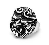 Недорогие -Кольца Мода Повседневные Бижутерия Классические кольца 1шт,Стандартный размер Серебряный