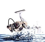 Mulinelli per spinning / Lenze da carpa 5.2:1 12 Cuscinetti a sfera IntercambiabilePesca di mare / Pesca a mulinello / Pesca a ghiaccio /