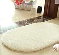"Hot Sale Super Soft Cotton Material Non-Slip Ellipse Mat W16"" x L24"""