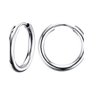 Women's Hoop Earrings Fashion Costume Jewelry Stainless Steel Circle Jewelry For Party Daily Casual