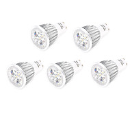 5pcs 7W GU10/E27 LED Spotlight 5 High Power LED 800lm Warm White Cold White Decorative AC85-265V